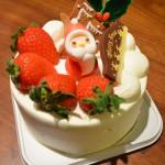クリスマスケーキ(セラフコーヒー)
