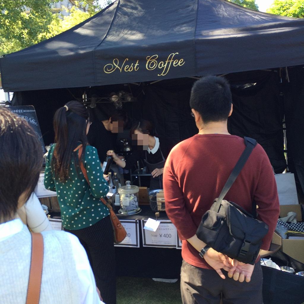 甲突川リバーサイドマーケット ネストコーヒー